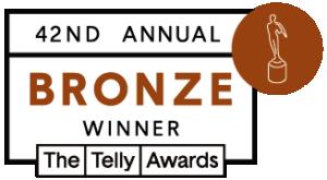 42nd Annual Telly Awards (2021): Bronze Winner